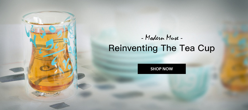 Modern muse | Reinventing the tea cups