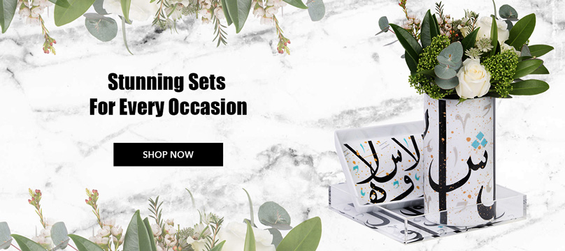 Stunning sets for every occasion