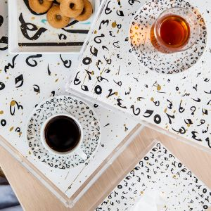 Accents Tray - Black (L)
