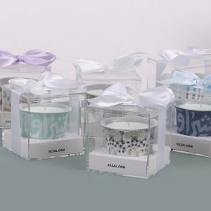 Silver Mirrors Oud Candle With Gift Box (50g)