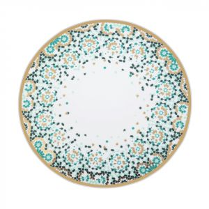 Mirrors Dinner Plate - Emerald