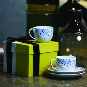 Gift Box Of 2 Mirrors Espresso Cups