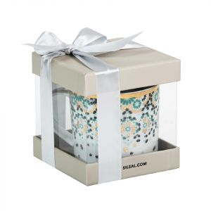 Mirrors Mug With Gift Box - Emerald Green