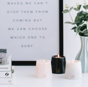 Pebble Sands Mini Marble Candle