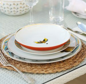 Sarb Soup Bowl - European Goldfinch