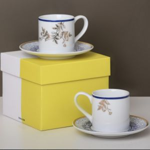 Gift Box Of 2 Kunooz Espresso Cups and Saucers