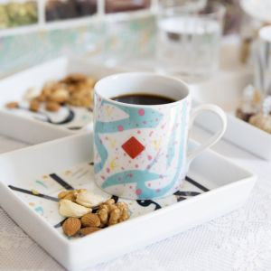 Tarateesh Mug With Gift Box (Turquoise)