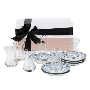 Gift Box of 6 Mirrors Teacups