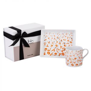 Accents Coral Gift Set