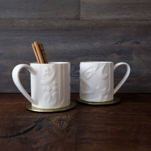 Embossed Ghida Mug With Gift Box
