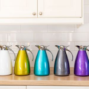 Double-Walled Vacuum Jug - Silver