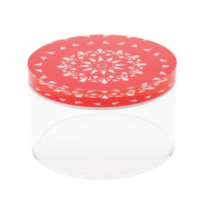 Ashkaal Flat Container (M) - Red