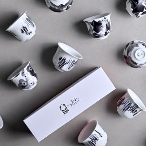 DIDI X Silsal: A Meeting Of Minds Arabic Coffee Cup Set
