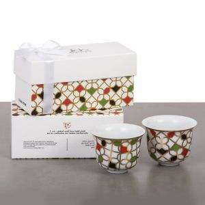 Gift Box Of 2 Unity Arabic Coffee Cups