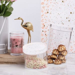 Accents Slanted Container (S) - Coral