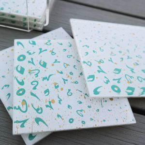 Accents Coasters - Turquoise