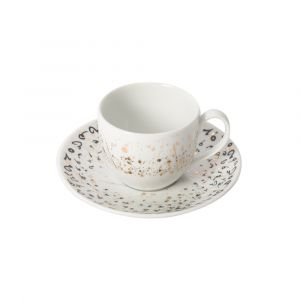 Accents Espresso Cup & Saucer