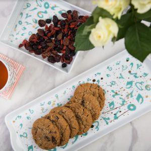Accents Platter - Turquoise (M)