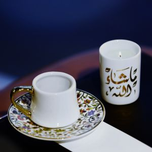 Majestic Espresso Cup and Saucer