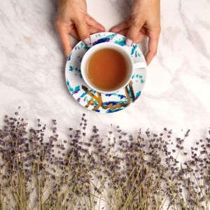 Fairuz Porcelain Teacup & Saucer