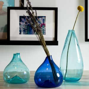 Pomegranate Vase - Blue